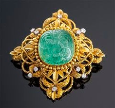 antique emerald jewelry
